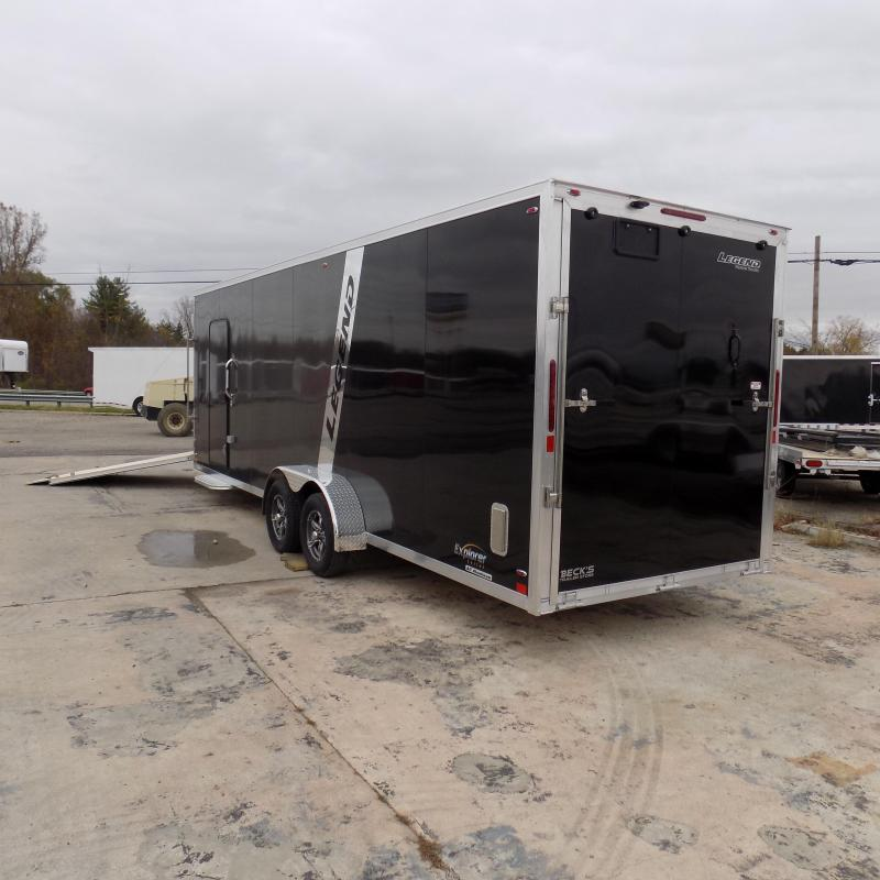 New Legend Explorer 7' x 29' Snowmobile Trailer - $0 Down & Payments From $169/mo. W.A.C - Guaranteed Best Deal