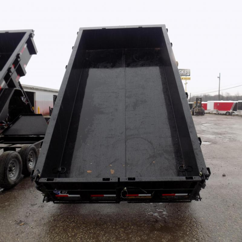 "New Diamond C 82"" x 14' Low Profile Dump Trailer For Sale - Payments from $119/mo. W.A.C."