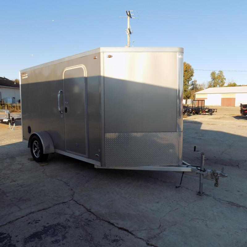 Used Legend FTV 7' x 15' Aluminum Enclosed Cargo Trailer For Sale - Great Shape!