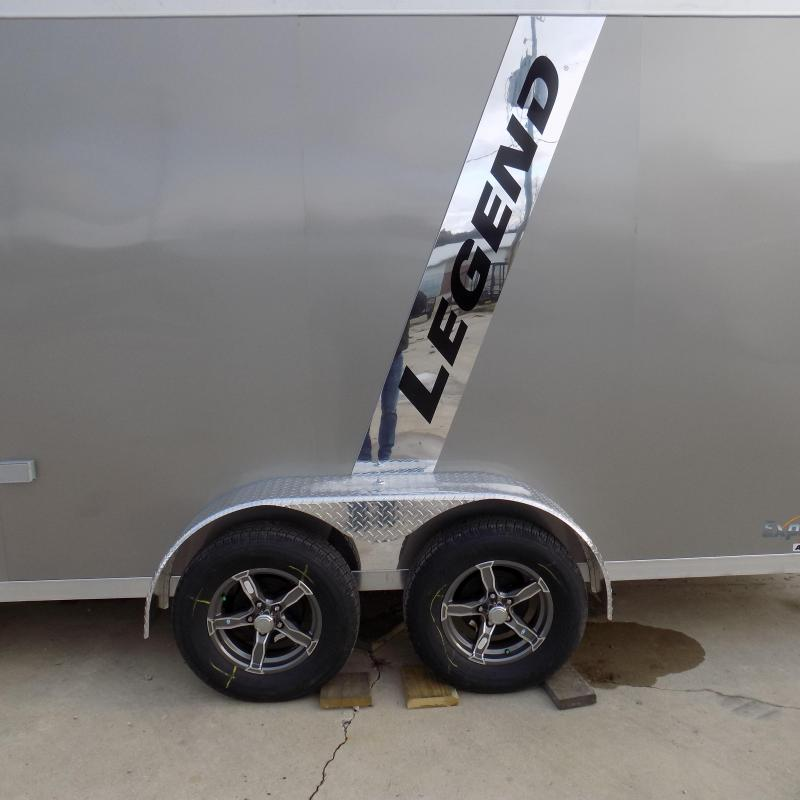 New Legend Explorer 7' x 23' Snowmobile Trailer - $0 Down & Payments From $144/mo. W.A.C - Guaranteed Best Deal