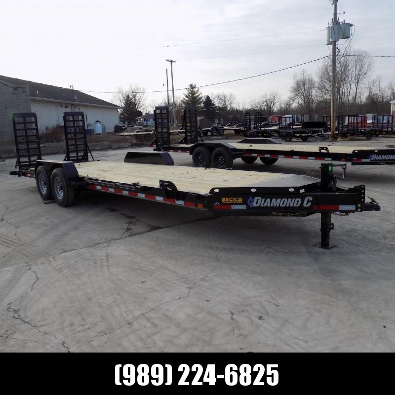 "New Diamond C Trailers 82"" x 24' Equipment Trailer For Sale - $0 Down & Payments from $125/mo. W.A.C."