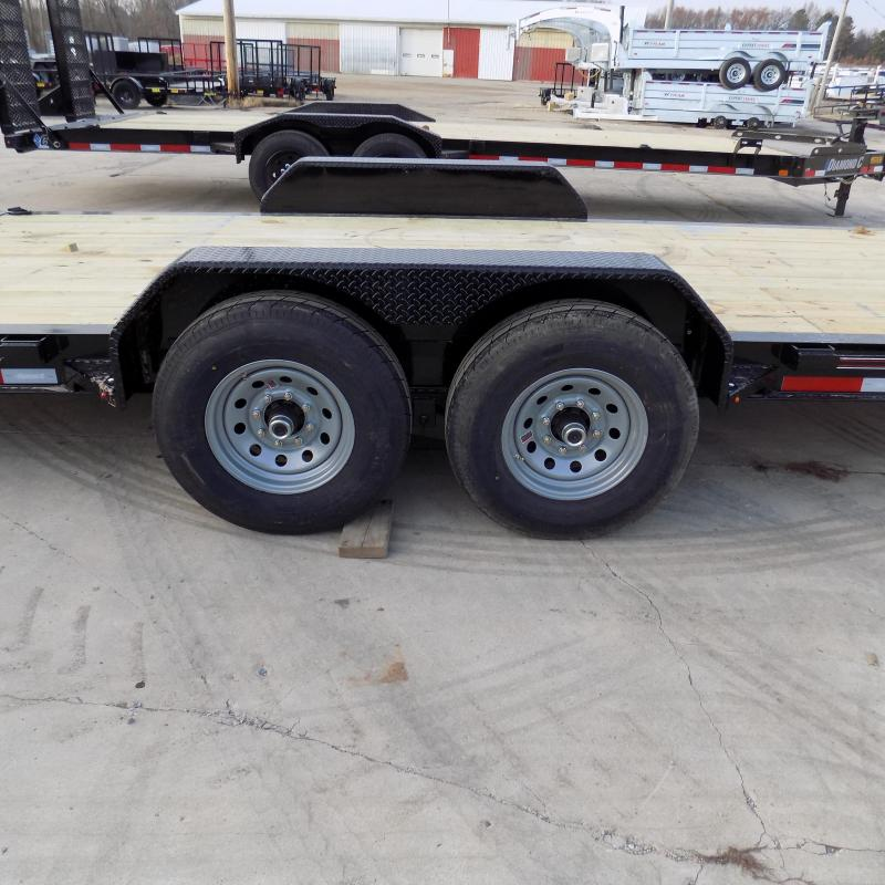 """New Diamond C Trailers 82"""" x 24' Equipment Trailer For Sale - $0 Down & Payments from $125/mo. W.A.C."""