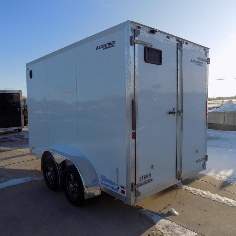 New Legend Thunder 7' x 14 Aluminum Enclosed Cargo For Sale - $0 Down & Payments From $113/mo. W.A.C.