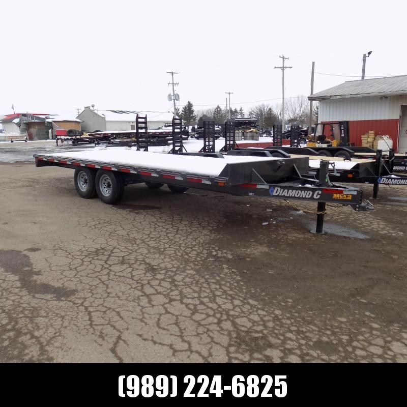 """New Diamond C Trailers 102"""" x 20' Deckover Equipment Trailer For Sale - Payment From $119/mo. With $0 Down W.A.C."""