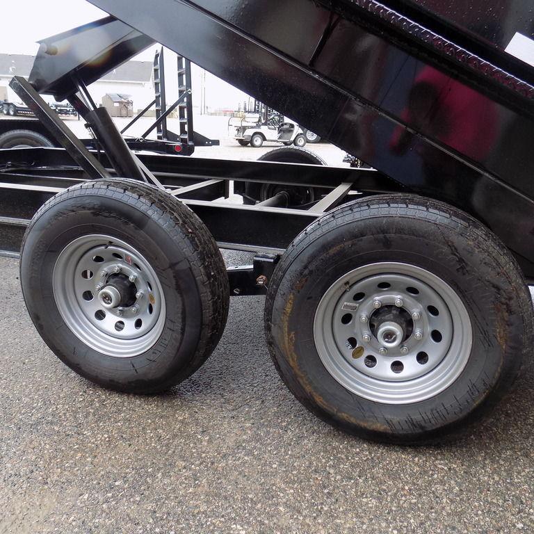 """New Iron Bull 83"""" x 14' Dump Trailer for Sale"""