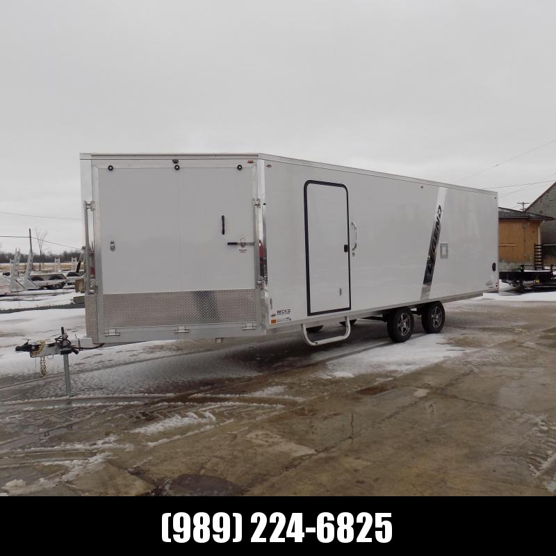 New Legend Explorer 8.5' x 30' Deckover Snow Trailer - $0 Down & $179/mo. W.A.C.