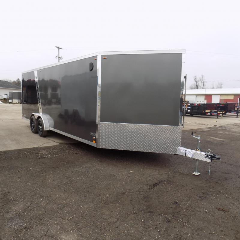 New Legend Explorer 7.5' x 27' Aluminum Snowmobile Trailer - $0 Down & Payments From $149/mo. W.A.C - 7.5' Wide With NO INTERIOR WHEEL WELLS!