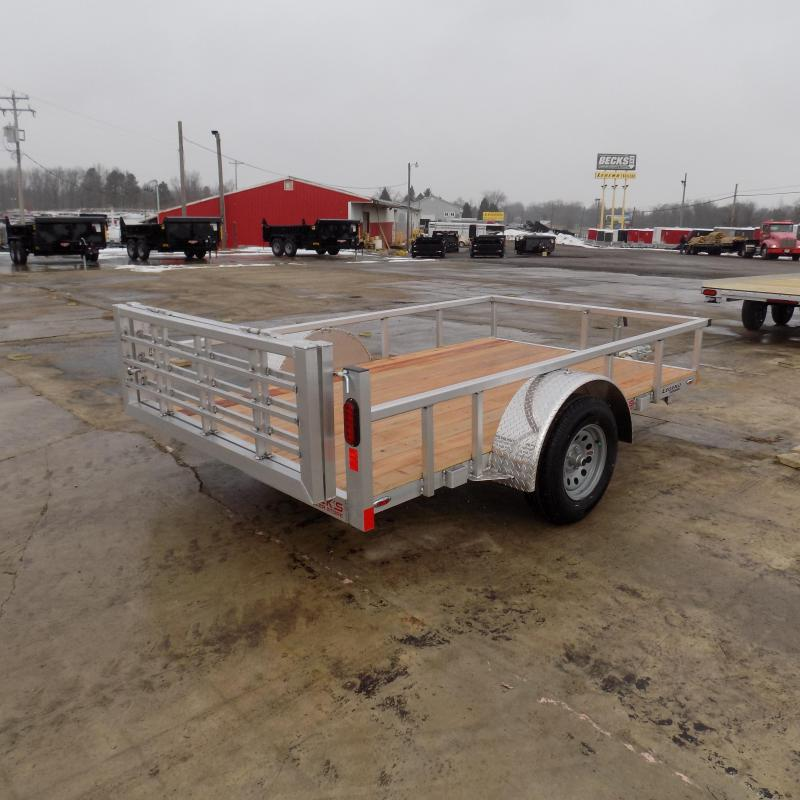New Legend Open Deluxe 6' X 10' Aluminum Utility Trailer-$0 Down Payments From $60/mo W.A.C.