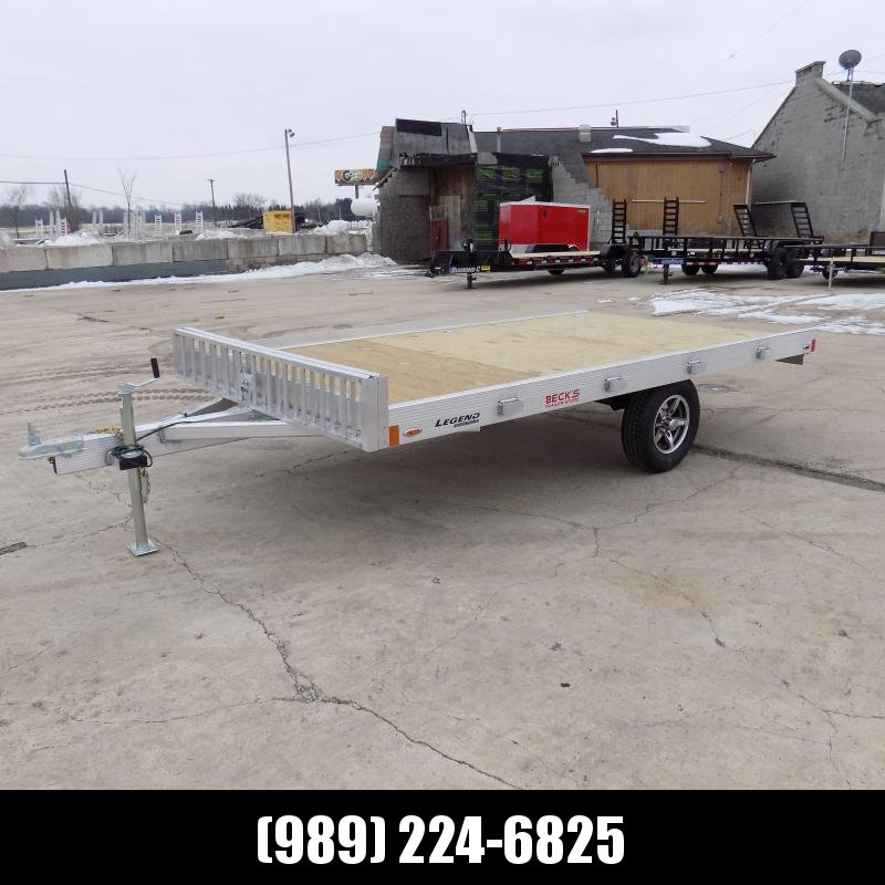 New Legend 7' x 12' Aluminum ATV Master - $0 Down Payments From 69/MO W.A.C.