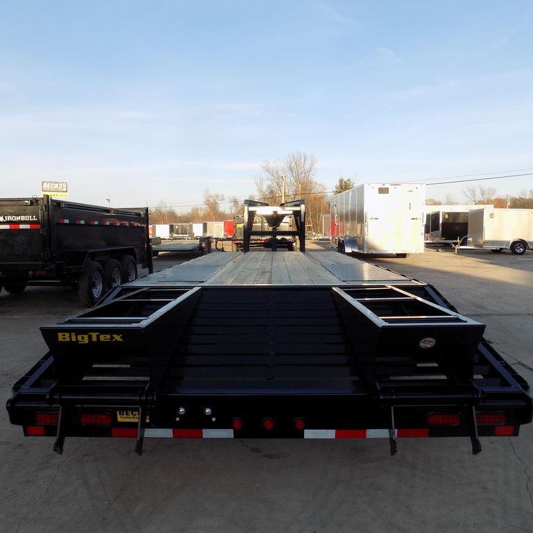 "New Big Tex 102"" x 20' + 5' Gooseneck Equipment Trailer"