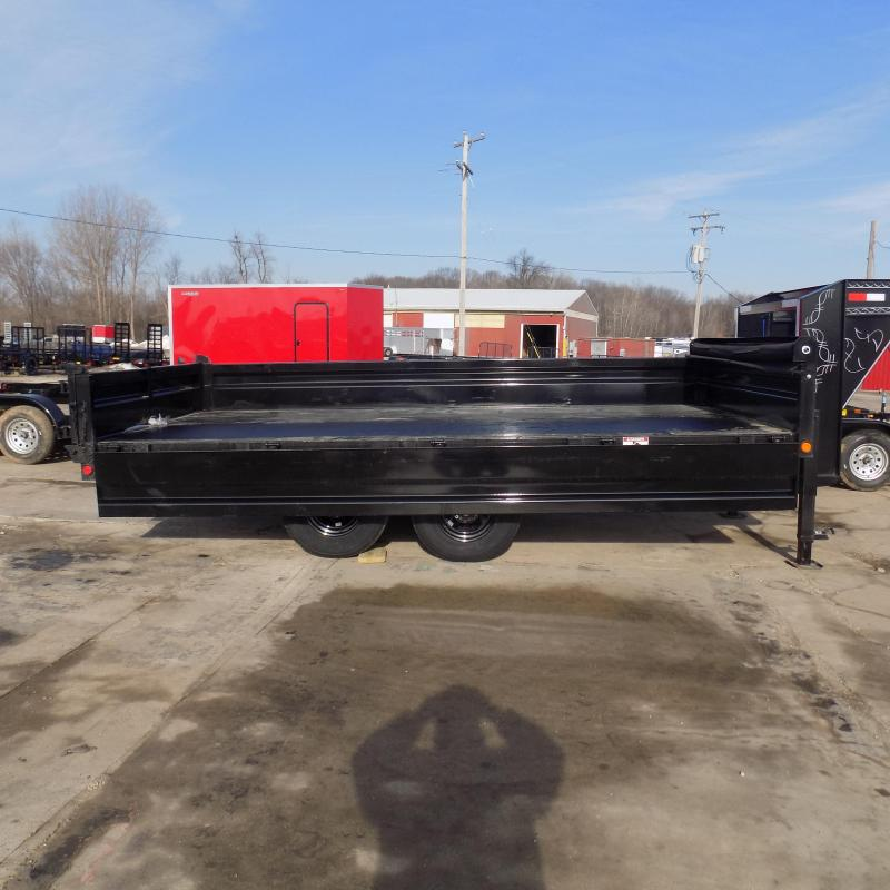 """New Load Trail 96"""" x 16' Gooseneck Deckover Dump Trailer  - $0 Down & Payments From Payments From $139/mo. W.A.C."""