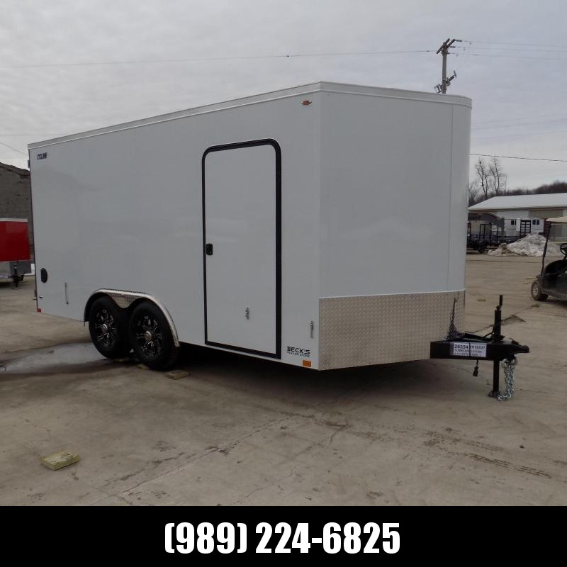 New Legend Trailers Legend Cyclone 8.5' x 18' Enclosed Car Hauler / Cargo Trailer for Sale - $0 Down  Payment From $107/Month W.A.C.