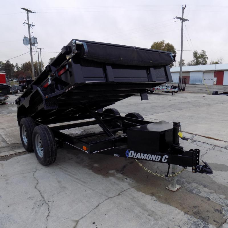 "New Diamond C Trailers 77"" x 10' Dump Trailer For Sale - Payments from $123/mo. with $0 Down W.A.C."