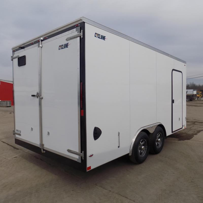 New Legend Cyclone 8.5' x 18' Enclosed Car Hauler / Cargo Trailer for Sale - $0 Down  Payment From $107/Month W.A.C.