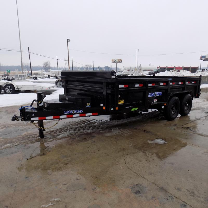 "New Load Trail 83"" x 16' Dump Trailer for Sale - $0 Down & Payments from $131/mo. W.A.C. - Best Deal Guarantee"