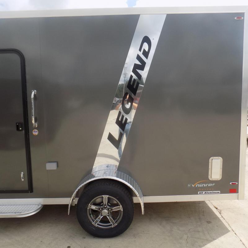 New Legend Trailers Explorer 7' x 19' Aluminum Snowmobile Trailer
