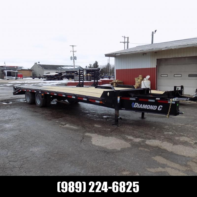 "New Diamond C 102"" x 25' Equipment Trailer W/ 25K Weight Rating - $0 Down & Payments From $159/mo. W.A.C."
