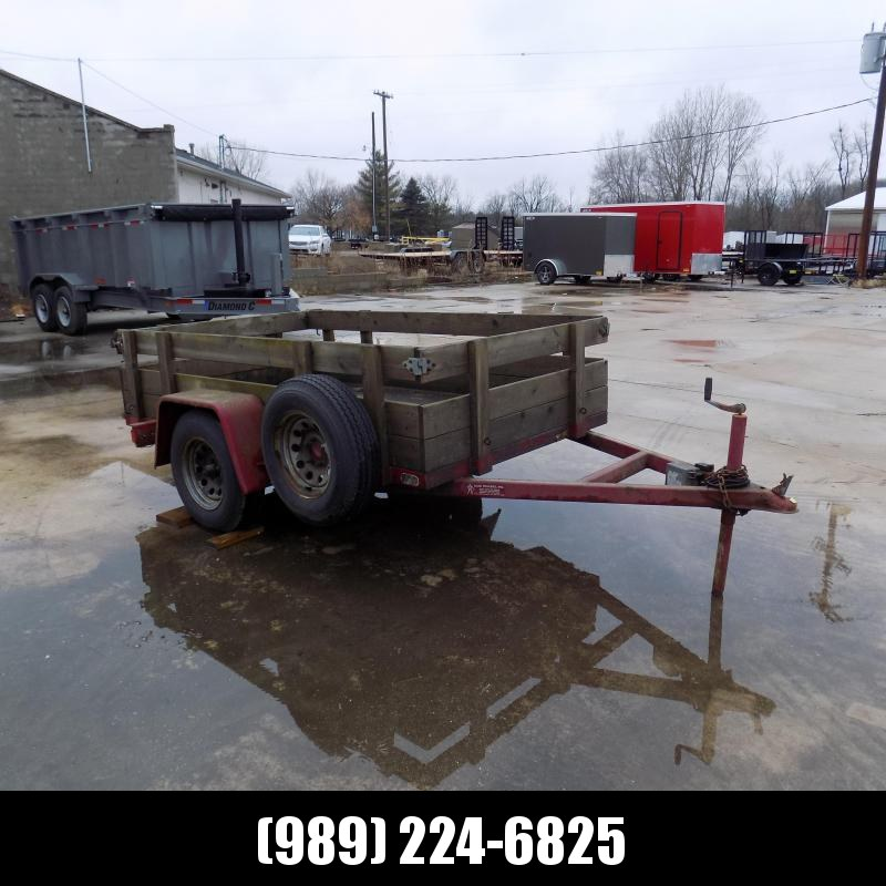 Used 5' x 8' Utility Trailer For Sale