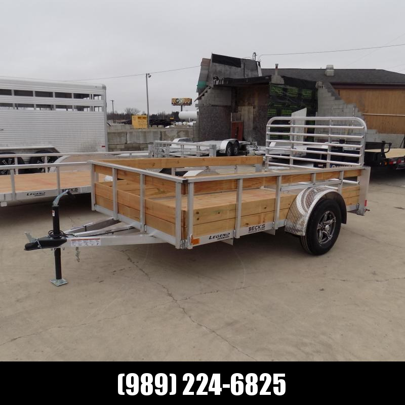 New Legend 6' x 10' 3 Board High Side Aluminum Utility Trailer $0 Down Payments From $87/Mo W.A.C.
