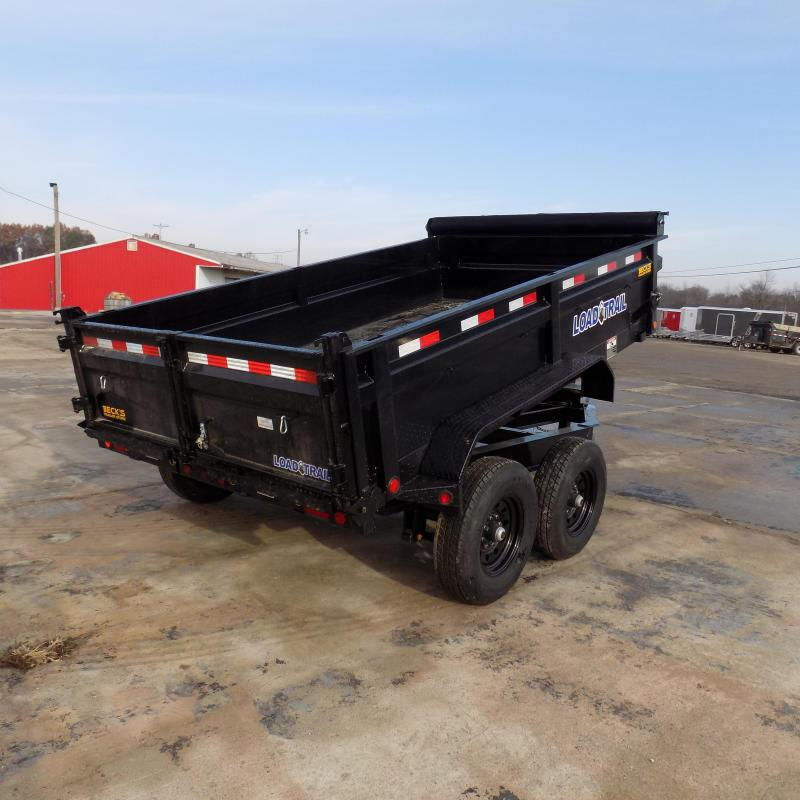 """New Load Trail DT14 83"""" x 12' Dump Trailer for Sale - $0 Down & Payments from $149/mo. W.A.C. - Best Deal Guarantee"""