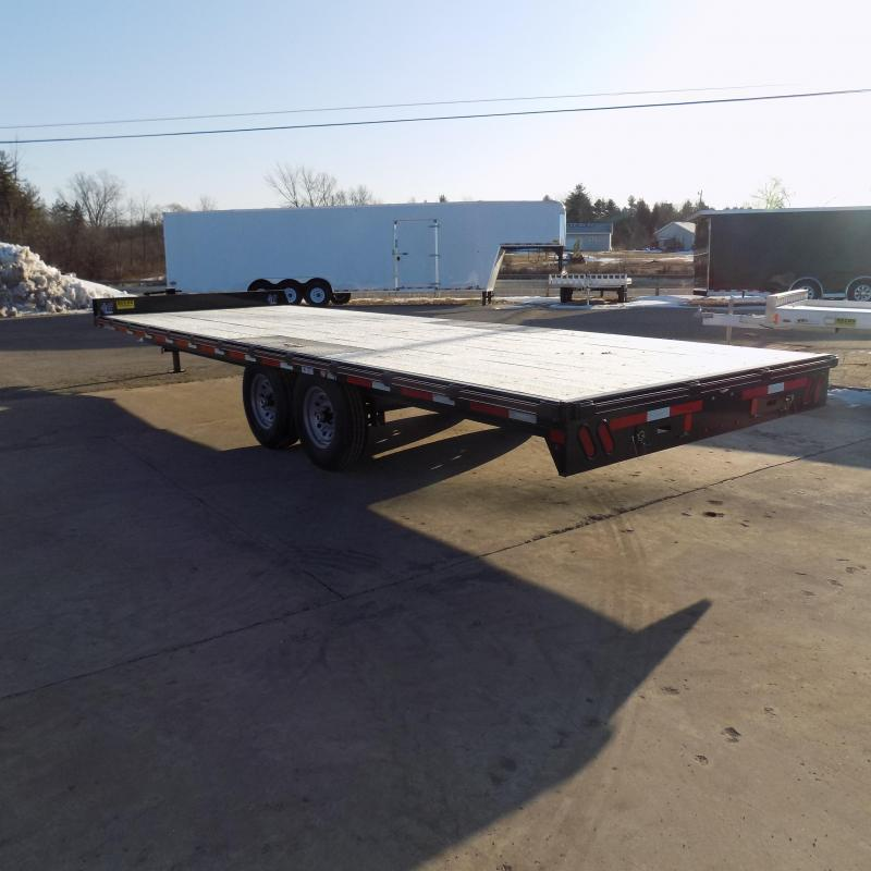 """New Diamond C Trailers 102"""" x 24' Deckover Equipment Trailer For Sale - Payment From $117/mo. With $0 Down W.A.C."""