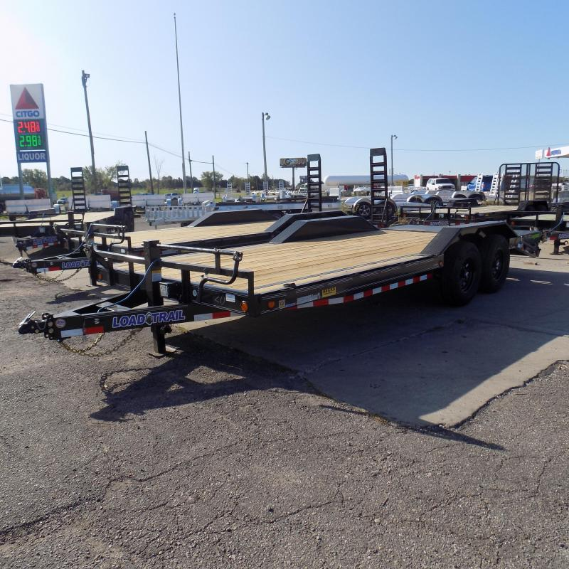 """New Load Trail CH14 102"""" x 20' Open Car/Equipment Trailer For Sale w/ Max Ramps"""