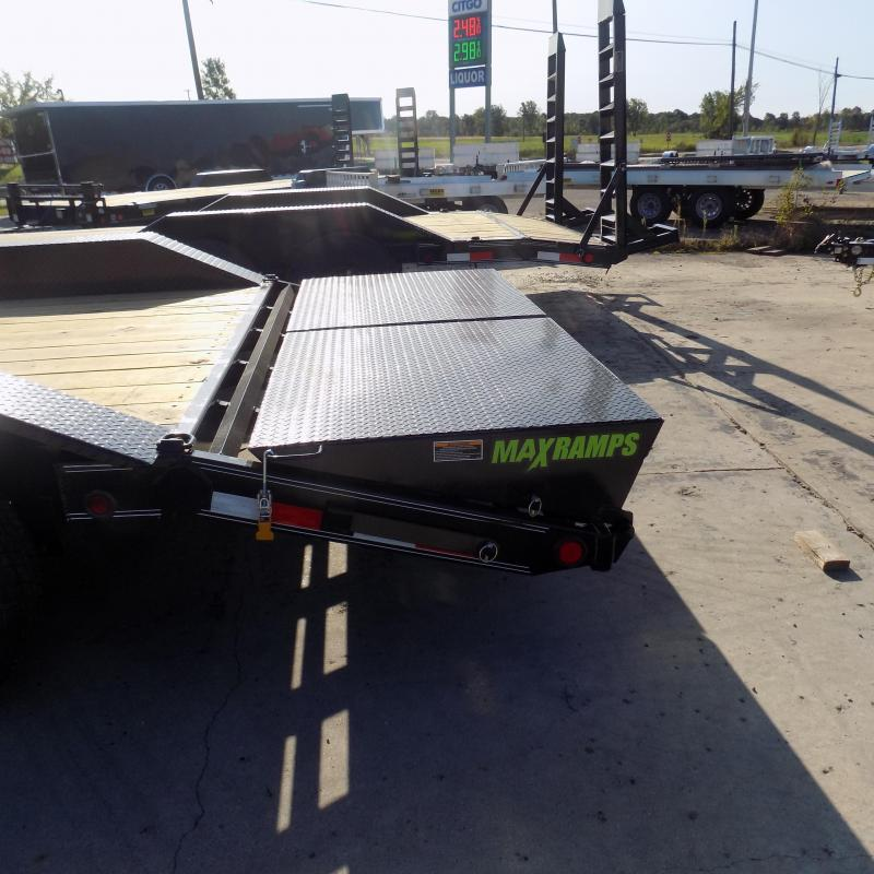 "New Load Trail CH14 102"" x 20' Open Car/Equipment Trailer For Sale w/ Max Ramps"