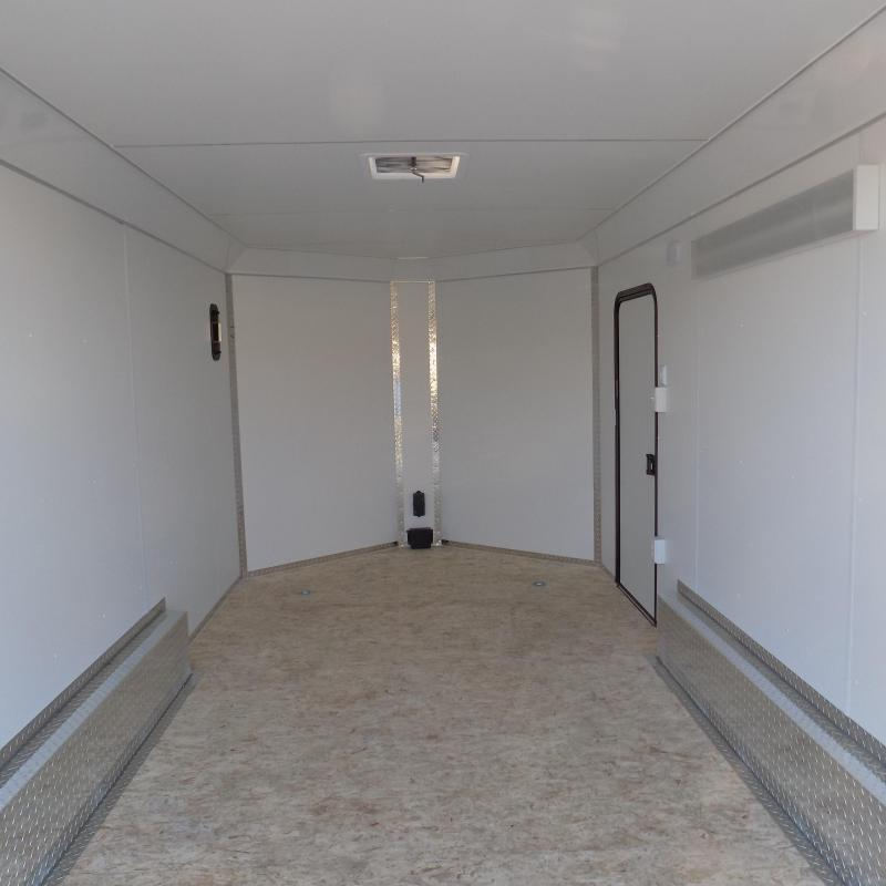 New Legend Deluxe V-Nose 8' x 17' Enclosed Cargo Trailer - $0 Down & $137/mo. W.A.C.