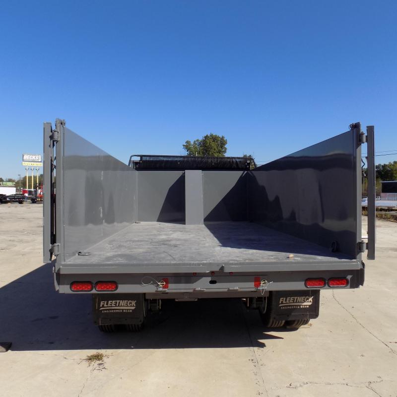 "New Diamond C Trailers Workhorse 96"" x 16' Dump Trailer W/ 25900# Weight Rating"