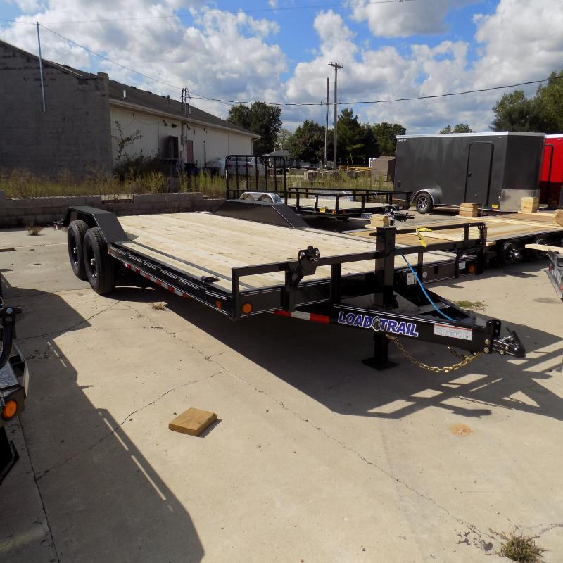 """New Load Trail CH14 102"""" x 20' Open Car/Equipment Trailer For Sale - Payments from $99/mo. W.A.C."""