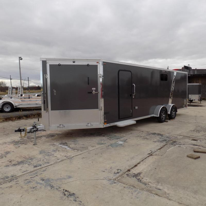New Legend Explorer 7' x 29' Snowmobile Trailer - $0 Down & Payments From $168/mo. W.A.C - Best Deal Guarantee