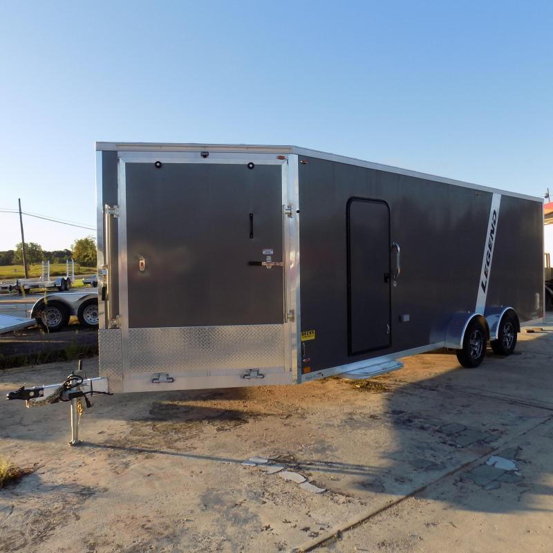 New Legend Explorer 7' x 27' Snowmobile Trailer From $165/mo. W.A.C - Guaranteed Best Deal