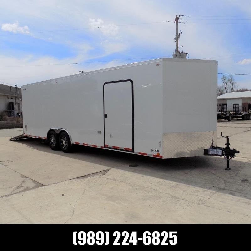 New Legend Cyclone 8.5' x 28' Enclosed Car Hauler With 7K Torsion Axles - $0 Down Payments From $129/mo W.A.C.