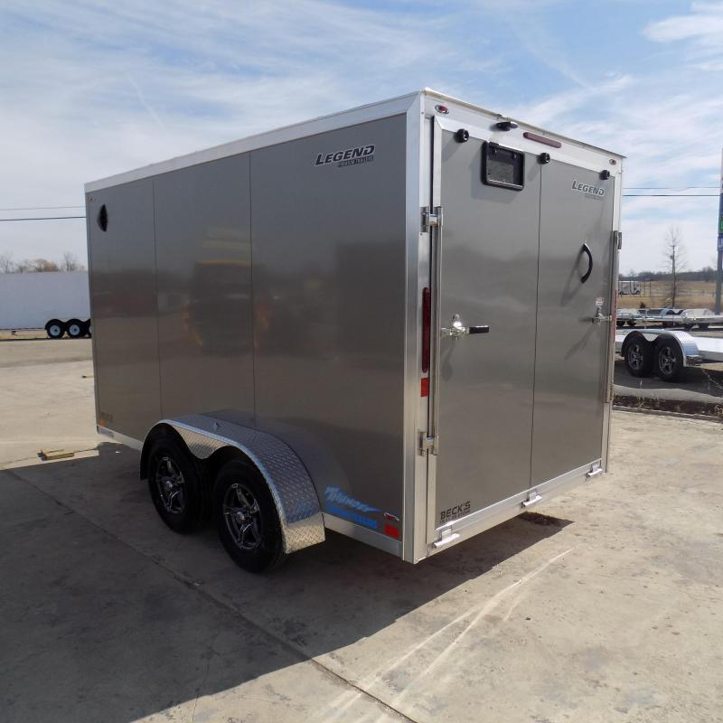 New Legend Thunder 7' x 14' Aluminum Enclosed Cargo For Sale- $0 Down payments From $99/Mo. W.A.C