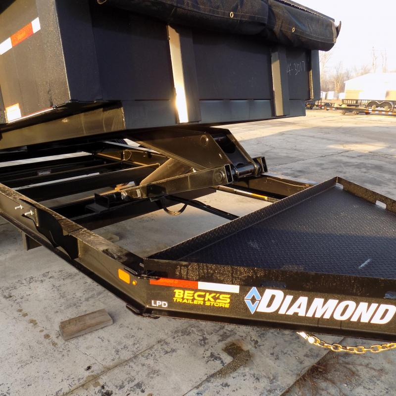 """New Diamond C 82"""" x 14' Low Profile Dump Trailer - 7 Gage - 10K Axles - Loaded With Features - $0 Down Financing Available"""