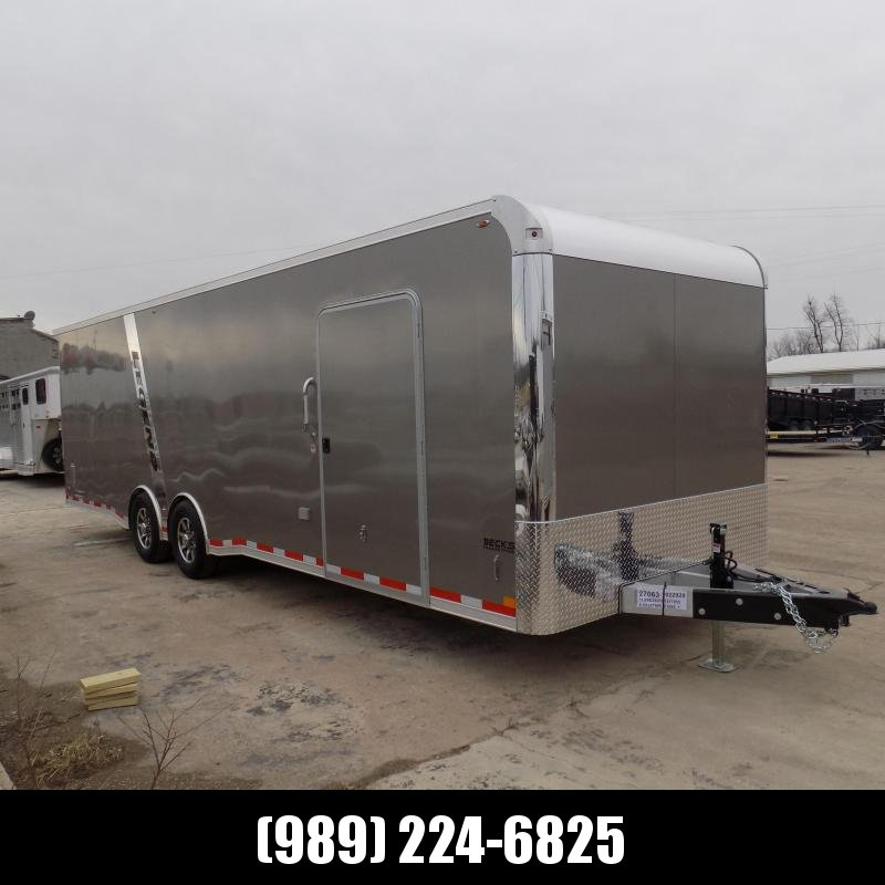 New Legend Trailmaster 8.5' x 28' Aluminum Race Series W/ 7000# Torsion Axles - $0 Down Financing Available