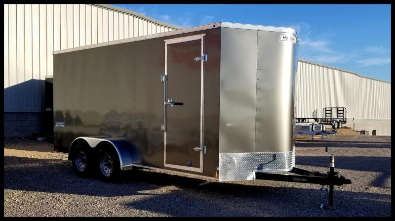 2020 Haulmark 7 x 16 Enclosed Cargo Trailer