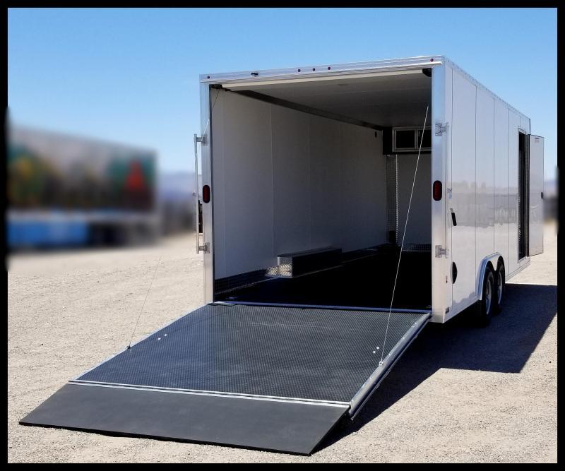 2020 Mission EZ Hauler Enclosed Cargo Trailer