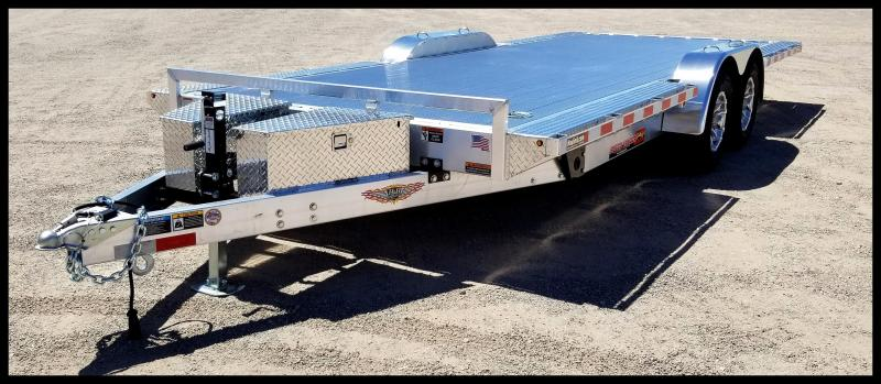 2020 H and H Trailer 82X20 ELEC. LP SPEEDLOADER ALUM 7K