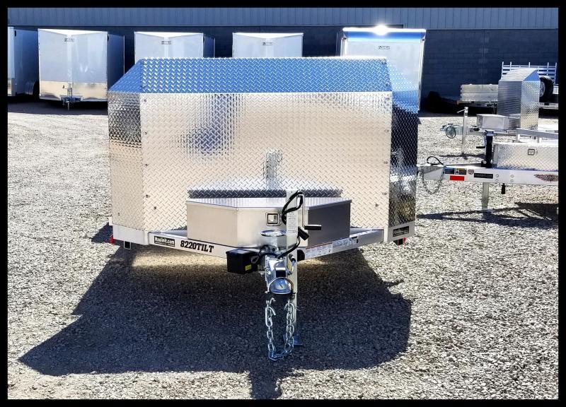 2020 Aluma 8220ANV-TILT Flatbed Trailer