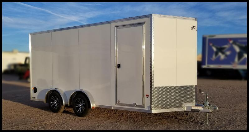 2020 Alcom-Stealth EZEC7X16 ATV Trailer