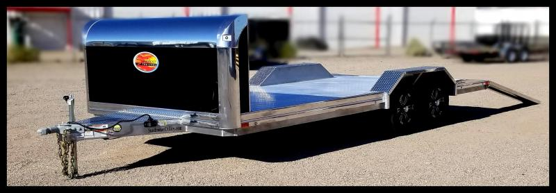 2020 Sundowner Trailers 102 x 20 Aluminum Car Hauler Flatbed Trailer