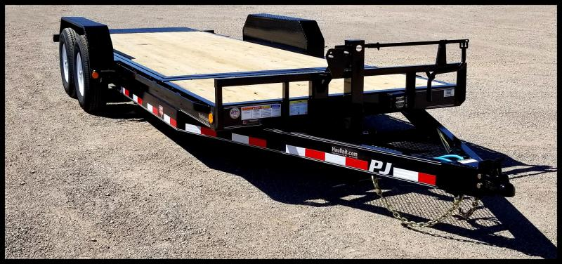 "2020 PJ Trailers 78"" x 20' Heavy Duty Equipment Trailer Equipment Trailer"