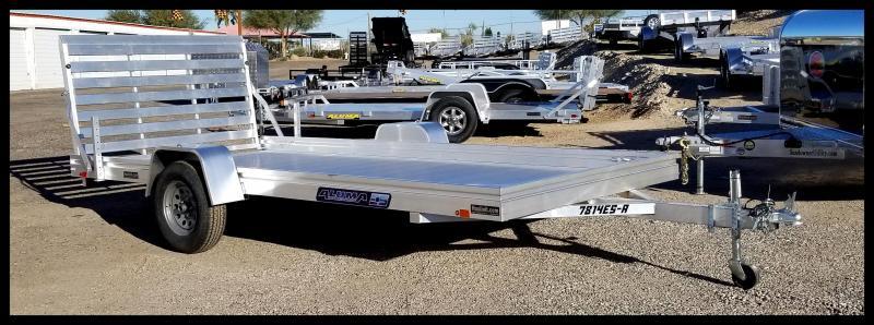 2020 Aluma 78 x 14 ATV Trailer