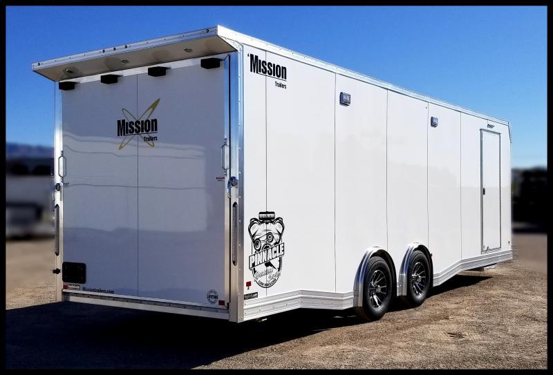 2020 Mission 8.5 x 26 Pinnacle Premium Car Series Enclosed Cargo Trailer