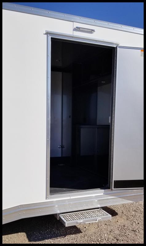 2020 Alcom-Stealth 8.5 x 24 Race Car Series Enclosed Cargo Trailer