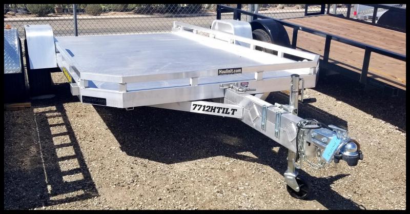 2020 Aluma 77 x 12 Tilt Aluminum Trailer Utility Trailer
