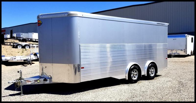 2020 Sundowner Trailers 8.5 x 20 Aluminum Cargo Trailer