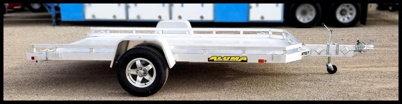 2021 Aluma 7712HTILT Flatbed Trailer