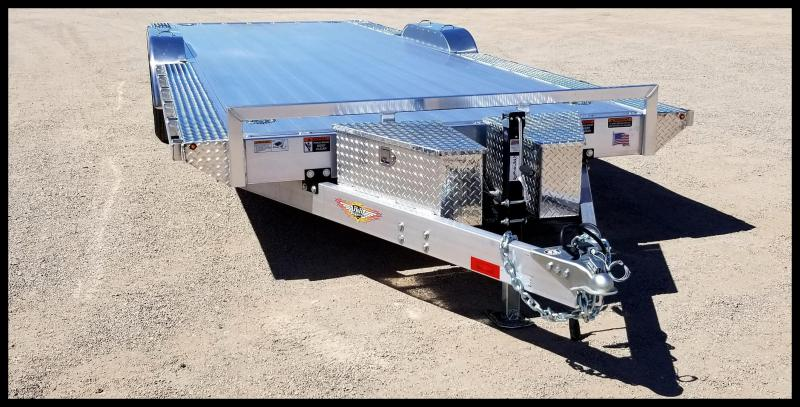 "2020 H and H Trailer 102"" x 24'  ELEC. SPEEDLOADER ALUM 10K"